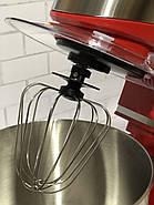Кухонний тістоміс міксер планетарний Royalty Line 1600 Вт, фото 2