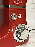 Кухонний тістоміс міксер планетарний Royalty Line 1600 Вт, фото 3