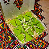 Новогодний набор восковых чайных свечей Ёлочка (15шт.), фото 4