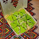 Новорічний набір чайних свічок воскових Ялинка (15шт.), фото 4