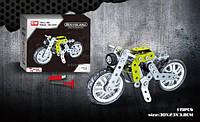 Конструктор SW-001 (24шт) металл, мотоцикл, отвертка, 120дет, в кор-ке, 36-23,5-4см