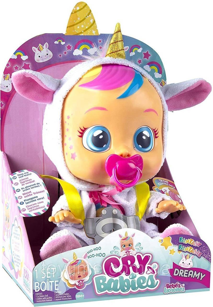 Пупсик Cry babies Плакса Дрими / Cry Babies Dreamy The Unicorn Doll