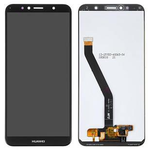 Модуль Huawei Y6 2018 черный Original