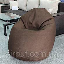 Кресло-овал (материал Рогожка), размер 130*100 см с дополнительным чехлом
