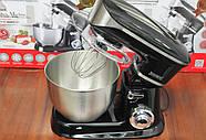 Кухонний тістоміс міксер планетарний Royalty Line RL-PKM1900, фото 3