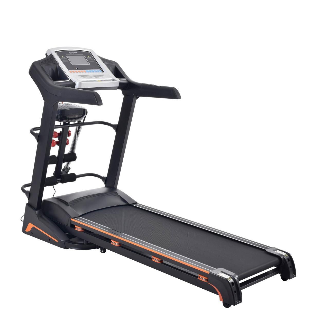 Беговая дорожка Atleto A10 с массажером. Максимальный вес пользователя: 140 кг