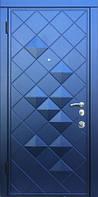Двери входные в квартиру, офис РОМБЫ 3D