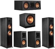 Комплект акустики Klipsch set 5.1 RP-8000F (RP-8000F + RP-500M + RP-500C + SPL-150) Ebony