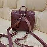 Женский рюкзак сумка из натуральной кожи Cameo, фото 3