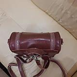 Женский рюкзак сумка из натуральной кожи Cameo, фото 6