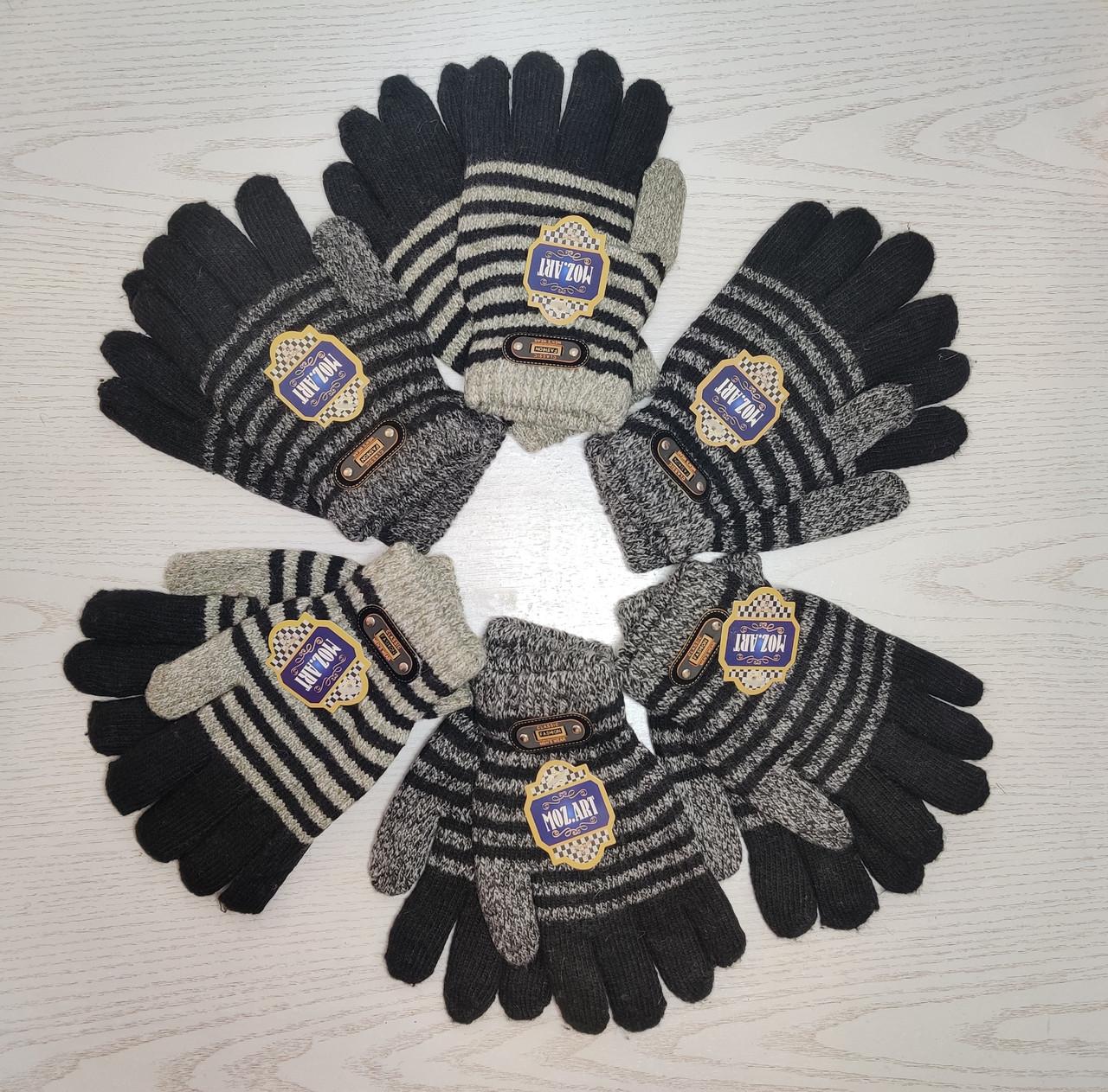 Перчатки для мальчика Возраст 6-12 лет