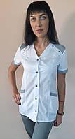 Жіночий медичний костюм Рондо бавовна короткий рукав