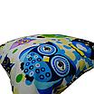 Подушка, 45*35 см, (хлопок), (сказочные совы голубые), фото 2