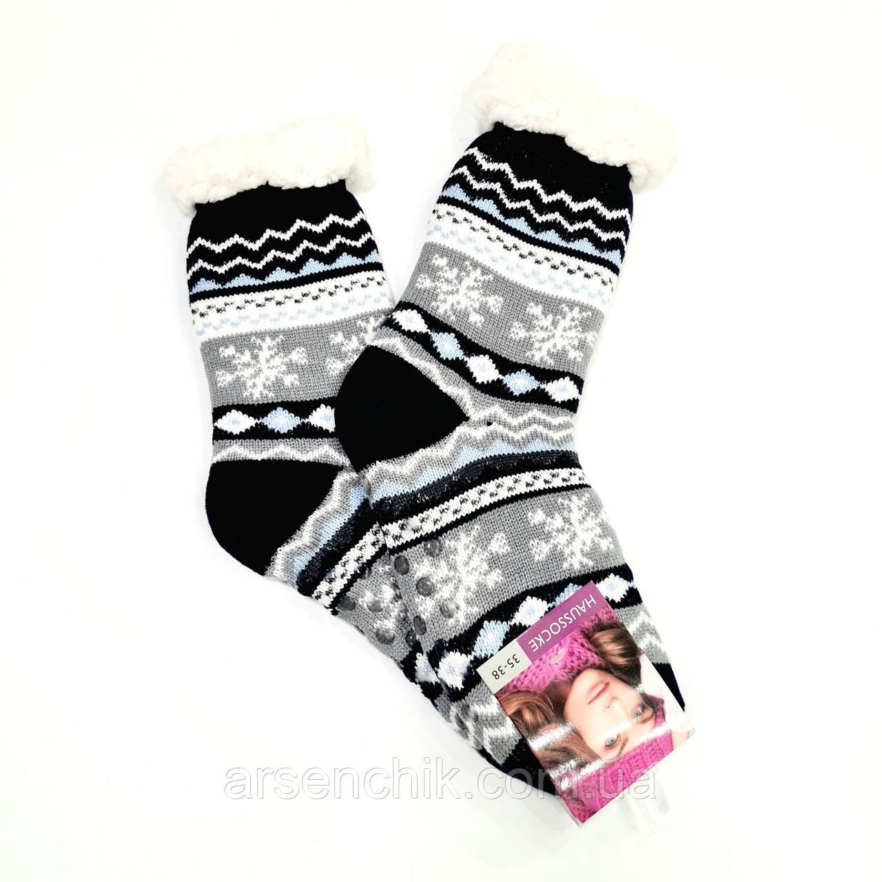 """Шкарпетки шерстяні на хутрі жіночі """"HAUSSOCKE"""""""