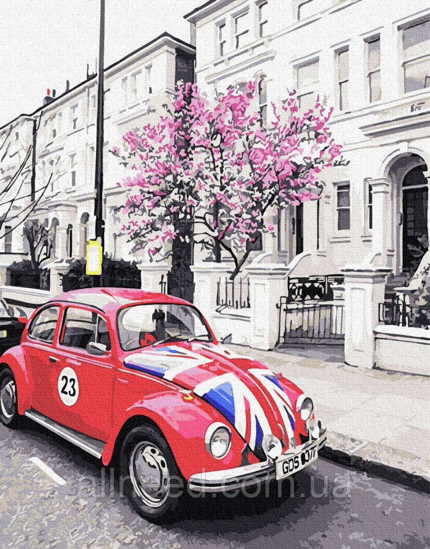 Картина по номерам Британское авто