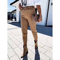 Модные джинсы женские укороченные 577160