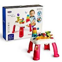 Детский музыкальный развивающий столик Abero.Розвовающие игры для малышей. Бизиборд