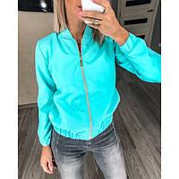 Куртка ветровка женская на подкладке 390-3 р 42-52