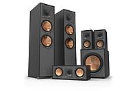 Комплект акустики Klipsch set 5.1 R-820F (R-820F + R-51M + R-34C + R-120SW) Black, фото 1