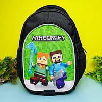 Детский рюкзак для мальчика Майнкрафт (дитячий рюкзак Minecraft), фото 1