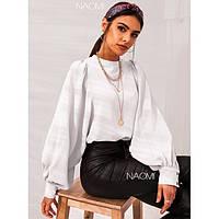 Блуза женская с пышными рукавами 7844