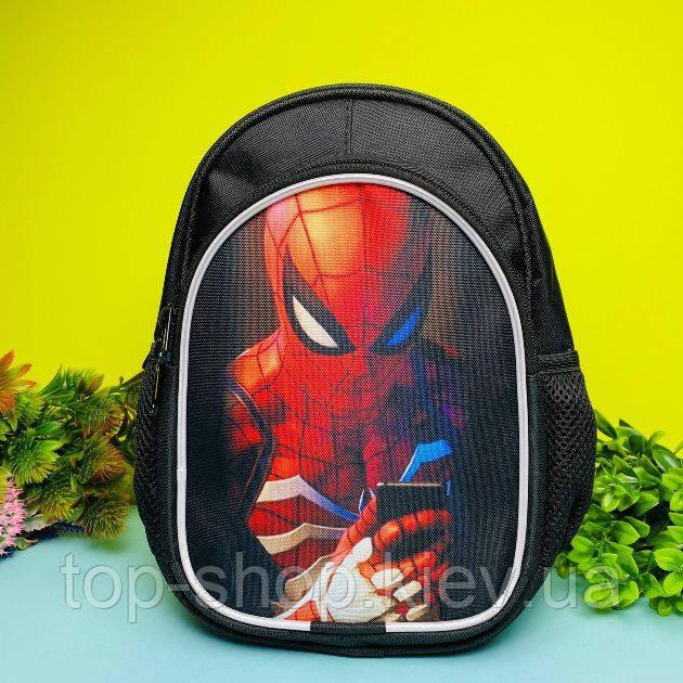 Детский рюкзак для мальчика человек паук (спайдер мен)