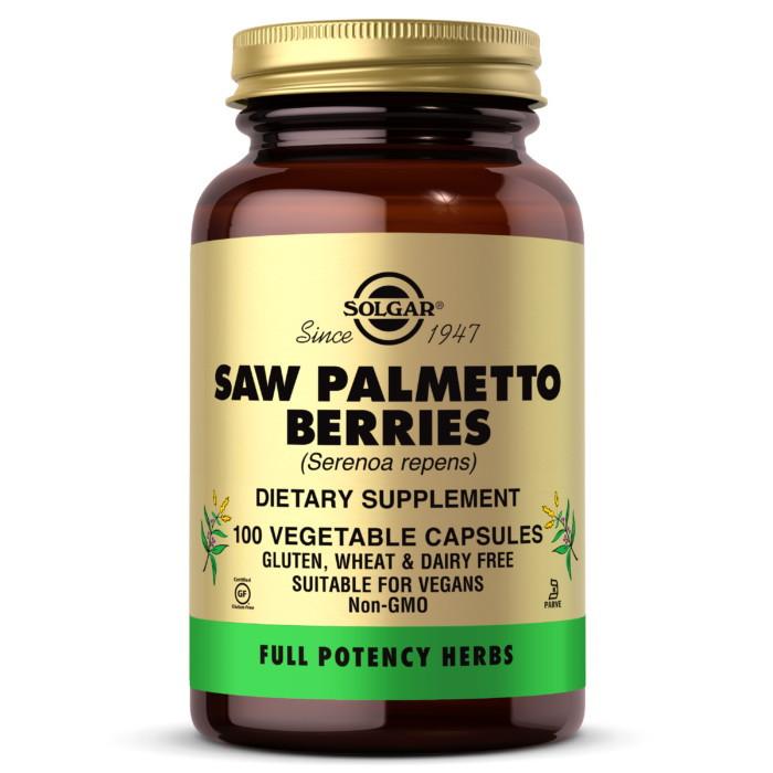 Витамины для мужчин Solgar Saw Palmetto Berries (100 veg caps)