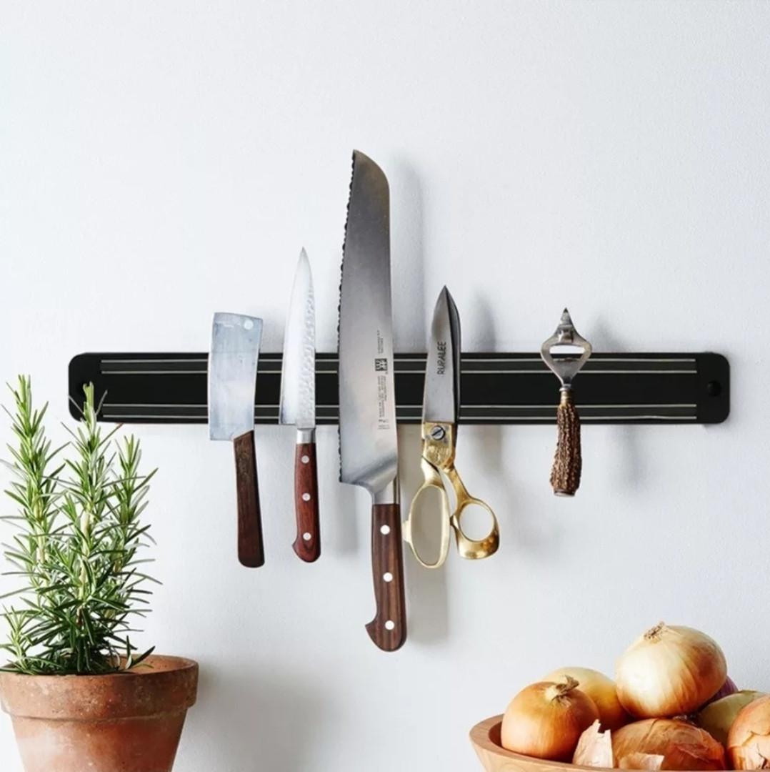 Магнитная планка-держатель Kamille для ножей 48*5*1.5 см настенная универсальная