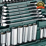 Професіональний набір інструментів  Mannesmann 215-tlg, фото 7
