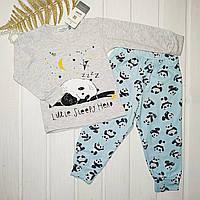 Пижама детская для мальчика Размеры 92 116 128