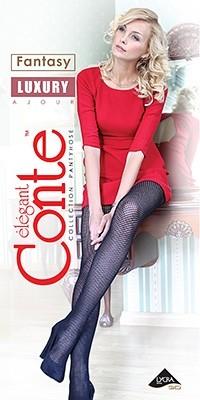 Колготки женские ажурные Conte AJOUR LUXURY