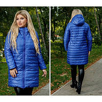 "Куртка пальто зимнее женское на овчине ""Суровая зима "" р 44-54"