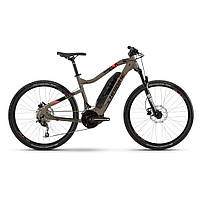 "Электровелосипед горный Haibike SDURO HardSeven Life 4.0 500Wh 20s. Deore 27.5"", рама S, песочно-черный, 2020"