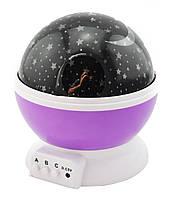 Детский ночник звездного неба Star Master Dream Rotating фиолетовый (11000502)