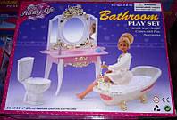 Мебель для кукол Gloria Глория 2316 Ванная комната Барби