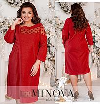 Элегантное платье большого размера Размеры: 50-52, 54-56, 58-60, фото 3