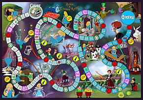 Настольная игра Алиса в стране чудес, фото 2