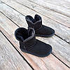 Натуральна замша уггі дитячі UGG чорні черевики чобітки уггі дитячі для дівчинки хлопчика, фото 4