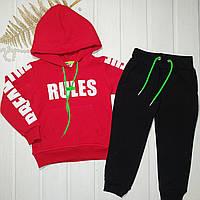 Спортивный костюм на флисе детский Рост 86 104, фото 1