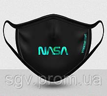 Маска FUCKTHEVIRUS NASA