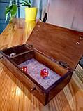 Лоток для игры в кости Подземелья и драконы / Dungeons and Dragons/ DnD / RpG, фото 5