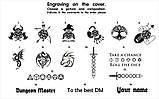 Лоток для игры в кости Подземелья и драконы / Dungeons and Dragons/ DnD / RpG, фото 9