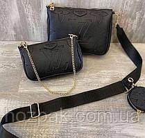 Женская сумка Louis Vuitton черная