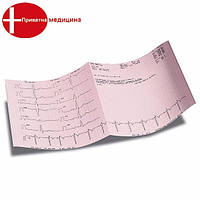 Бумага для ЭКГ Biomedica P80 (90x70x400)