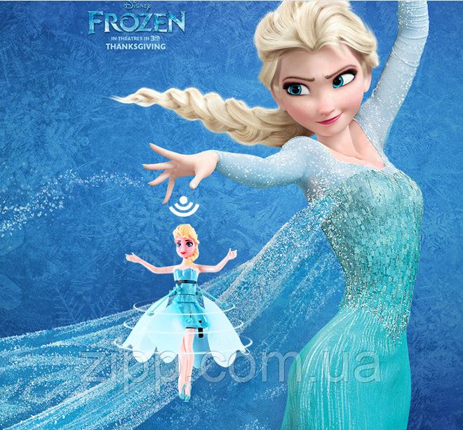 Летающая фея с подставкой кукла Эльза | Летающая фея с подставкой Frozen. Холодное сердце