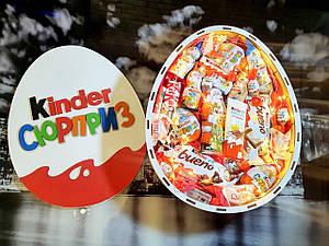 Подарочный Kinder набор для детей со сладостями , Kinder сюрприз с подсветкой