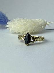 Золотое кольцо со шпинелью и бриллиантами  Классика