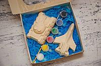 Набор гипсовых фигурок с красками, набор для творчества