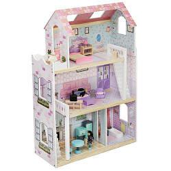 Кукольный деревянный дом 86 см D 6858