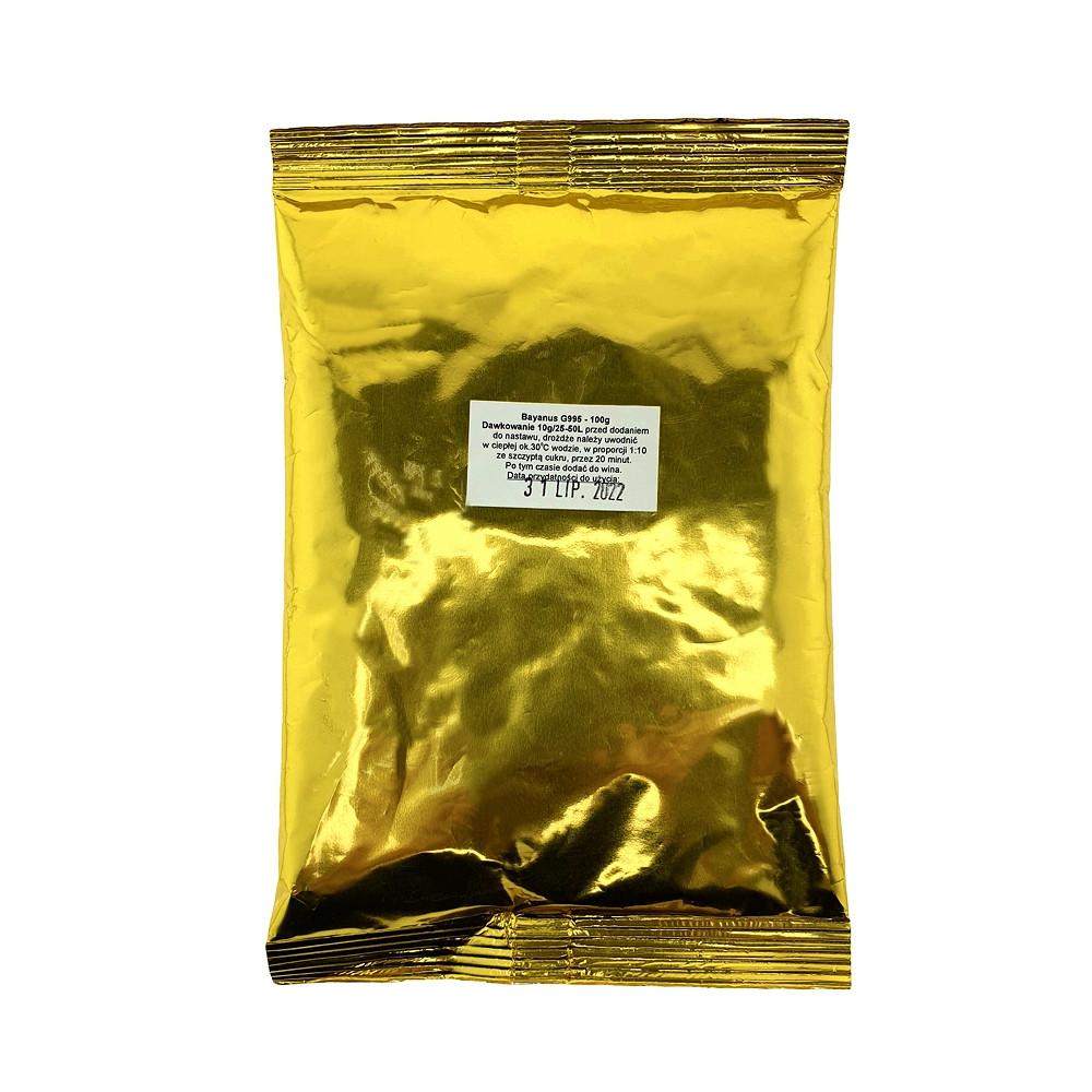 Винные дрожжи Mega Pack Wino Bayanus G995 100 грамм.